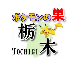 【ポケモンGO】栃木のレアポケモンの巣の場所一覧《最新》