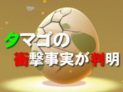 【ポケモンGO】ベイビィポケモン実装でタマゴの中身も入れ替え!?