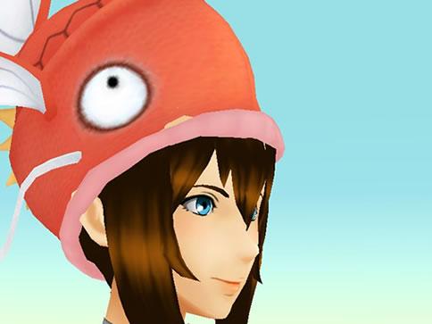 【ポケモンGO】着せ替えアイテムでコイキングの帽子が登場!みんなの反応は?
