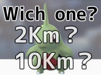 ヨーギラスは2Kmか10Kmどっちから生まれる!?